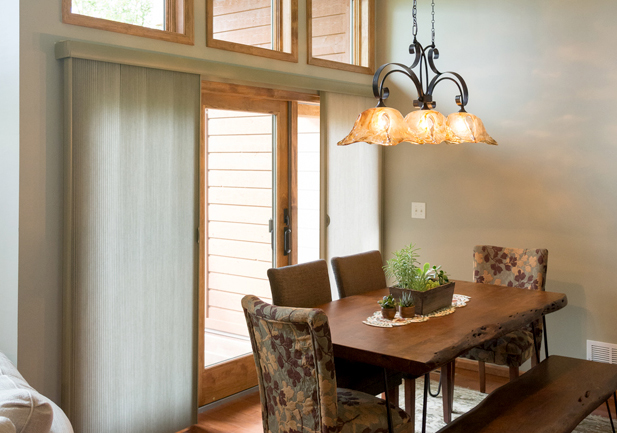Duette Honeycomb Sliding Door Shades Rocky Mountain Shutters & Shades Denver