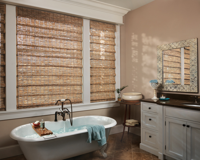 Provenance woven wood shades Custom Window Shades Denver