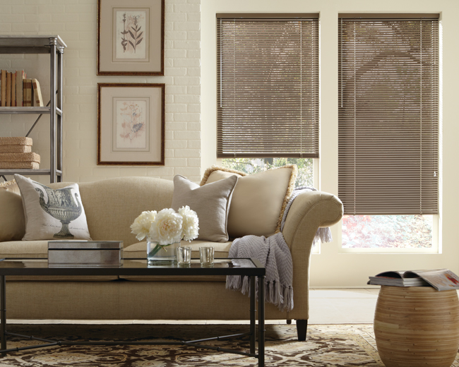 living room Hunter Douglas Blinds Denver