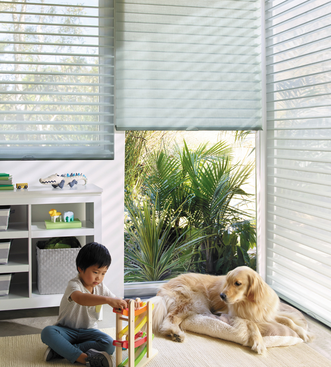 Hunter Douglas Nantucket Cordless Window Treatments Rocky Mountain Shutters & Shades Denver