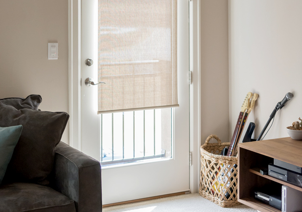 Door Shades Low Profile Rocky Mountain Shutters & Shades Denver