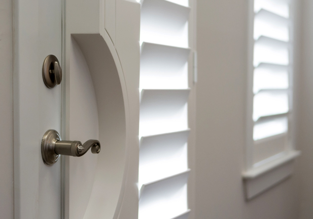 Plantation Shutters for Doors Rocky Mountain Shutters & Shades Denver
