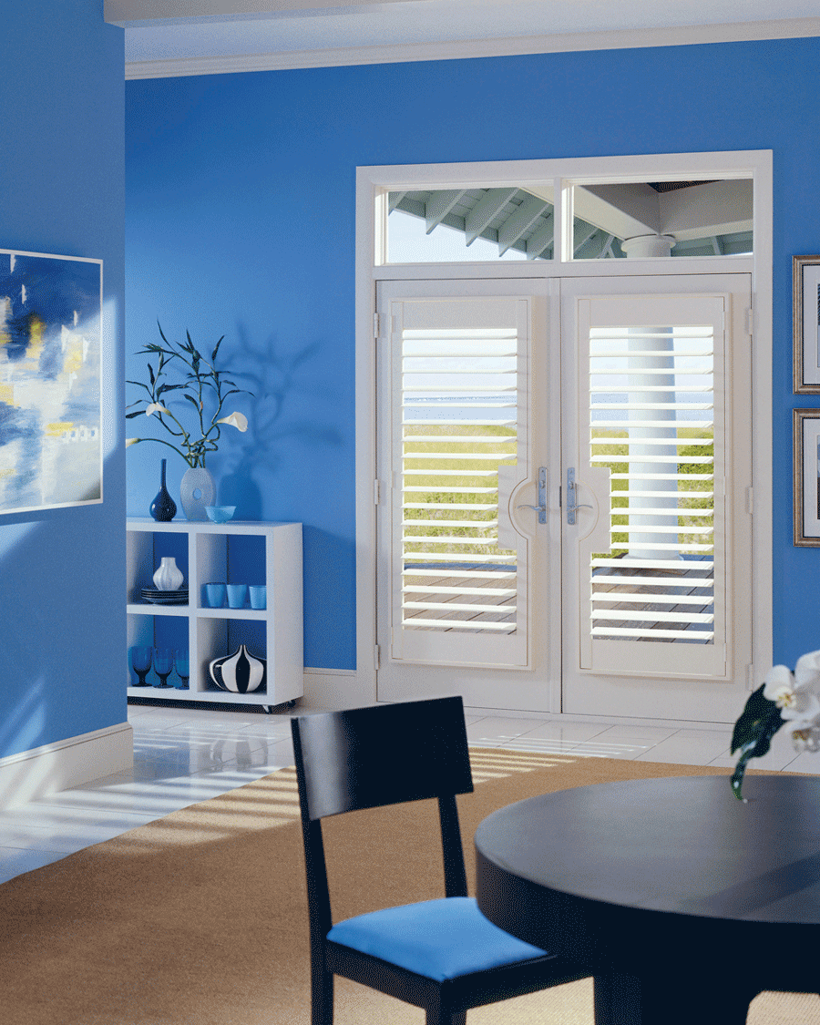 Need ideas window coverings for your doors plantation shutters rubansaba