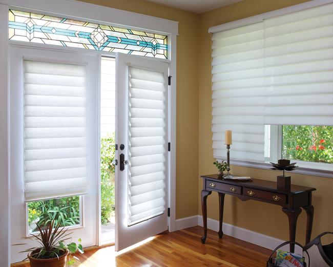 door window shades Denver