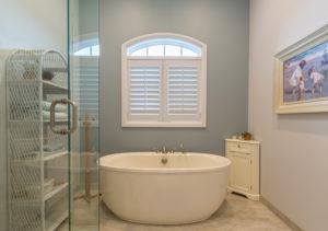 Plantation Shutters Bathroom Window Treatments