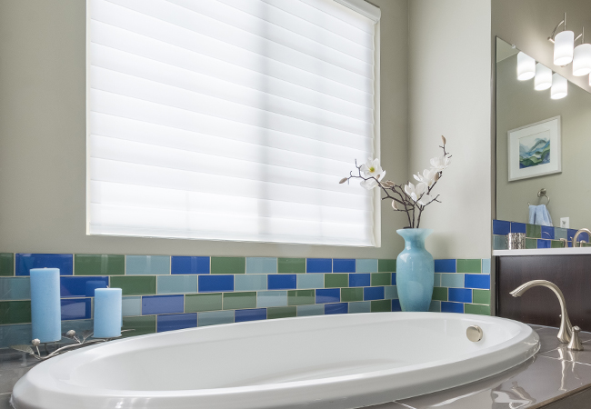 c62894a21 bathroom white shades hunter douglas silhouette shades englewood 80113