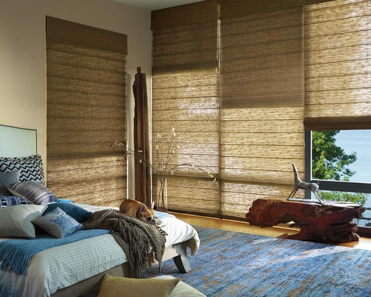 smart shades bedroom hunter douglas denver 80209 - Hunter Douglas Motorized Blinds