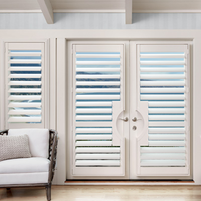 Shutters For French Doors Sliding