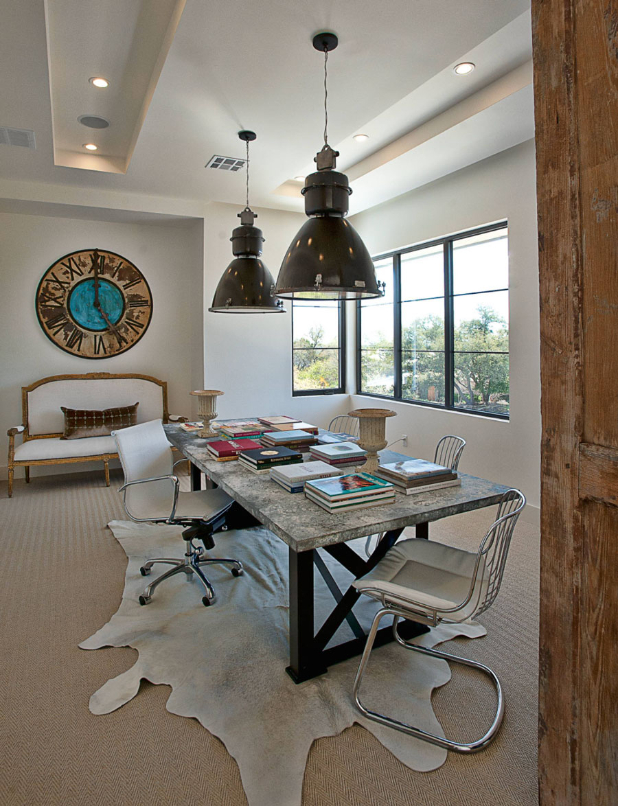 top design features in a work space